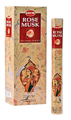 Hem Rose Musk Incense