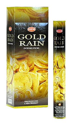 Hem Gold Rain Incense