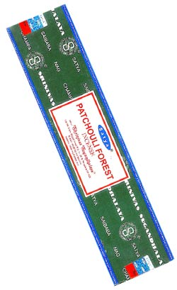 Satya Incense - Patchouli Forest - 40gr Box