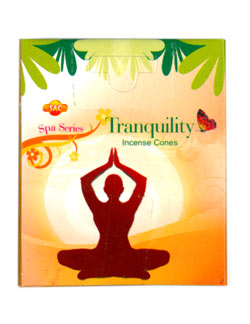 Sandesh (SAC) Spa Series Incense Cones - Tranquility
