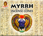 Kamini Cone Incense - Myrrh Incense Cones