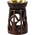 Oil Burner - Soapstone Peace