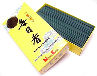 Mainichi-Koh Sandalwood - 300 Stick Box