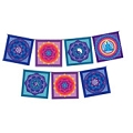 Meditation Mandala Flags - 7 Flags