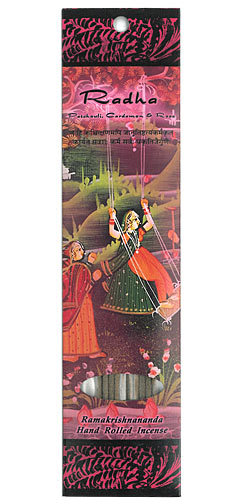Ramakrishnananda Incense - Radha - Patchouli, Cardamon & Rose