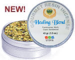 Gourmet Resin Incense - Healing Blend 1.5 oz. Tin