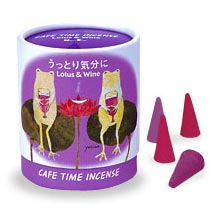 Cafe Time Incense - Lotus & Wine (Enchanted Mood)