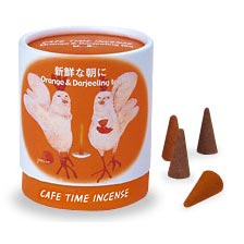 Cafe Time Incense - Orange & Darjeeling Tea (Fresh Morning)
