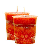 Frankincense Crystal Journey Traditional Votive Candle - 2 Candles