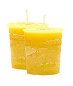 Cinnamon Crystal Journey Traditional Votive Candle - 2 Candles