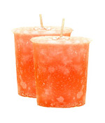 Rose Crystal Journey Traditional Votive Candle - 2 Candles