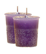 Jasmine Crystal Journey Traditional Votive Candle - 2 Candles
