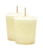 French Vanilla Crystal Journey Traditional Votive Candle - 2 Candles