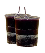 Patchouli Crystal Journey Traditional Votive Candle - 2 Candles