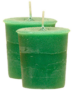 Peace Crystal Journey Herbal Votives - 2 Candles