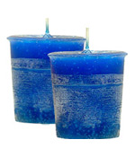 Good Health Crystal Journey Herbal Votives - 2 Candles