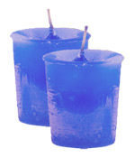 Creativity Crystal Journey Herbal Votives - 2 Candles