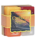Caribbean Nights - Crystal Journey Candles Herbal Gift Set