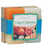 Citrus Collection - Crystal Journey Candles Herbal Gift Set