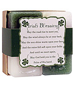Irish Blessing - Crystal Journey Candles Herbal Gift Set