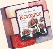 Romance - Crystal Journey Candles Herbal Gift Set