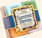 Summer Breeze - Crystal Journey Candles Herbal Gift Set