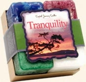 Tranquility - Crystal Journey Candles Herbal Gift Set