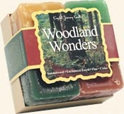 Woodland Wonders - Crystal Journey Candles Herbal Gift Set