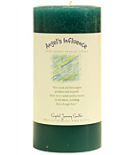 Angel's Influence - Crystal Journey Herbal 3X6 Pillar Candle