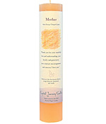 Mother - Crystal Journey Herbal Magic Pillar Candle
