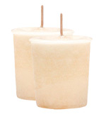 Coconut Crystal Journey Traditional Votive Candle - 2 Candles