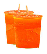 Mango Crystal Journey Traditional Votive Candle - 2 Candles