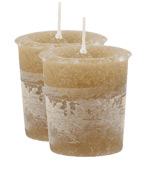 Musk Crystal Journey Traditional Votive Candle - 2 Candles