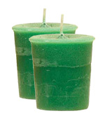 Myrrh Crystal Journey Traditional Votive Candle - 2 Candles