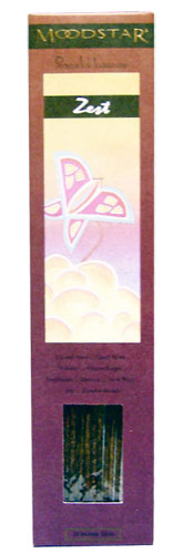 Moodstar Peaceful Incense - Zest