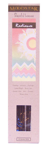 Moodstar Peaceful Incense - Radiance