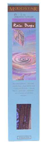 Moodstar Peaceful Incense - Rain Drops