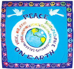 Peace on Earth Wall Hanging