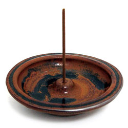 "Ceramic Japanese Wheel Burner 4"" - Mocha"