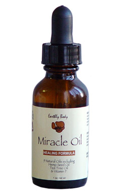 Earthly Body Miracle Oil - 1 oz.
