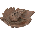 Ceramic Incense Burner - Frog Terra Cotta