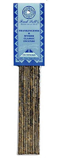 Fred Soll Incense - Frankincense & Myrrh Classical Incense