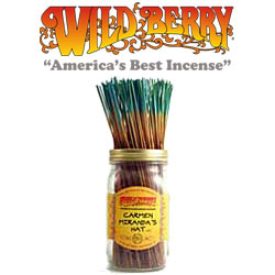 Carmen's Hat™ Incense Sticks by Wild Berry Incense