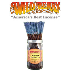 Citronella Lavender  Incense Sticks by Wild Berry Incense