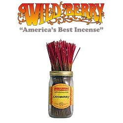 Cranberry Incense Sticks by Wild Berry Incense