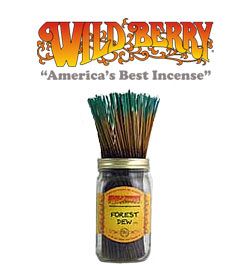 Forest Dew Incense Sticks by Wild Berry Incense