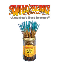 Fresh Rain Incense Sticks by Wild Berry Incense