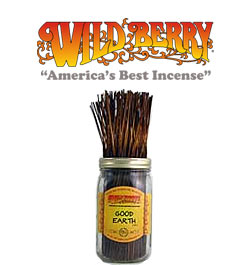 Good Earth Incense Sticks by Wild Berry Incense