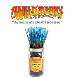 Havana Blue Incense Sticks by Wild Berry Incense