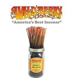 Honeysuckle Incense Sticks by Wild Berry Incense